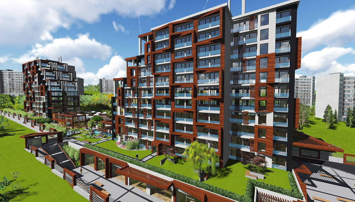 Appartements Istanbul avec Système Intelligent