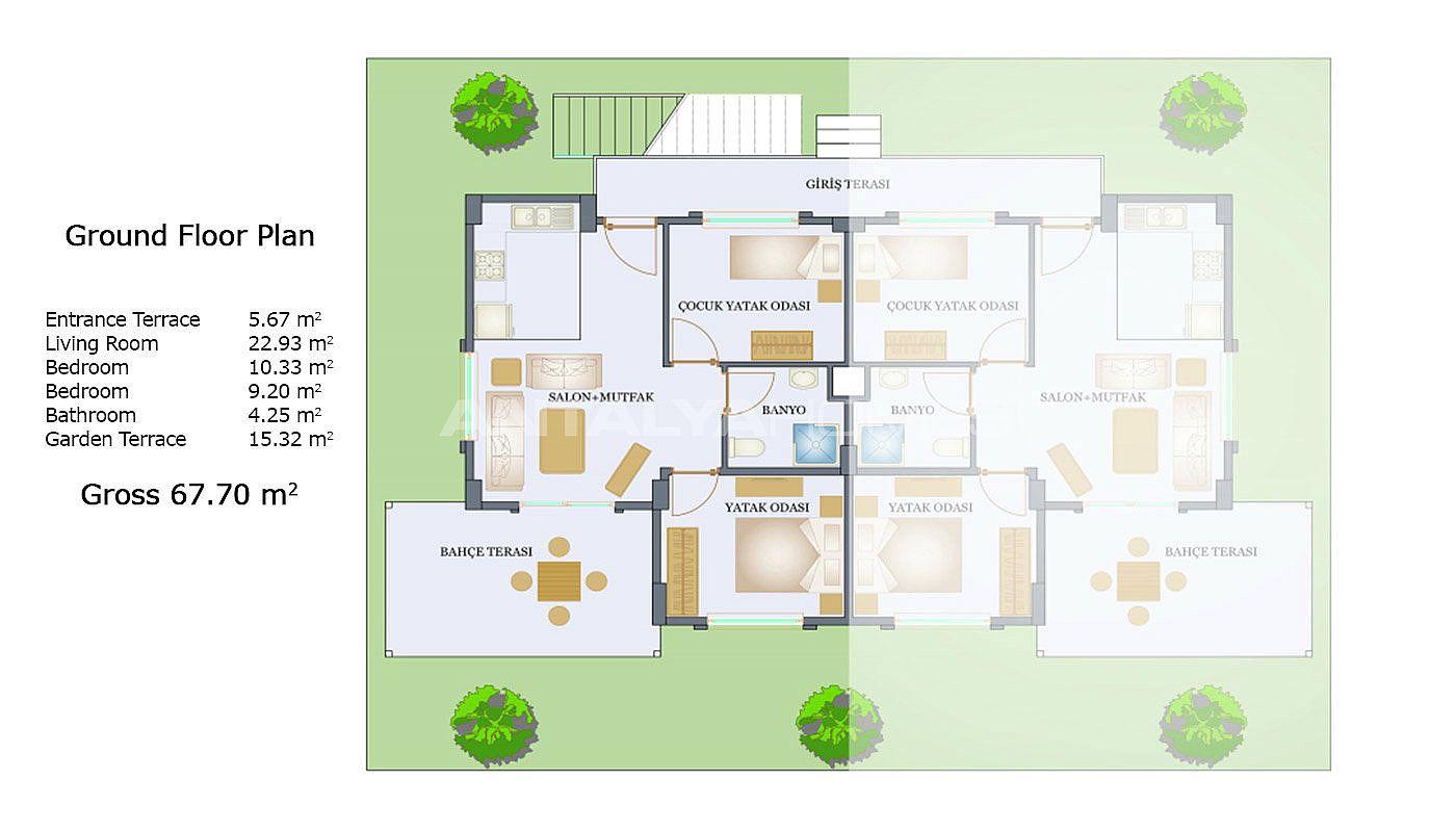 Moderne Sile Wohnungen in der Nähe der Annehmlichkeiten
