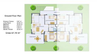 3+2 Istanbul Villas in the Prestigious Complex of Sile, Property Plans-3