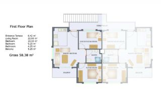 3+2 Istanbul Villas in the Prestigious Complex of Sile, Property Plans-4