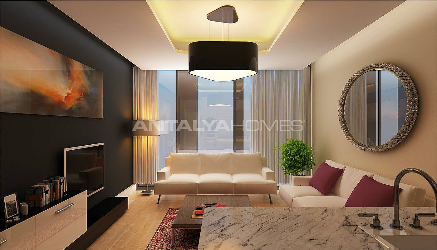 high quality apartments with sea view in istanbul. Black Bedroom Furniture Sets. Home Design Ideas
