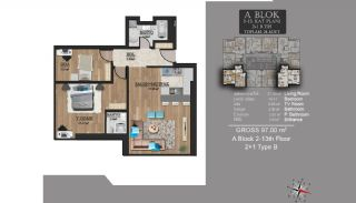 Centrally Located Luxury Apartments in Istanbul Esenyurt, Property Plans-1