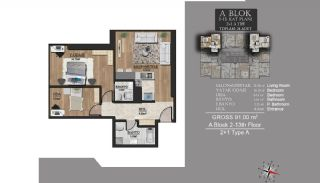 Centrally Located Luxury Apartments in Istanbul Esenyurt, Property Plans-2
