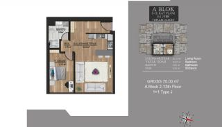Centrally Located Luxury Apartments in Istanbul Esenyurt, Property Plans-3