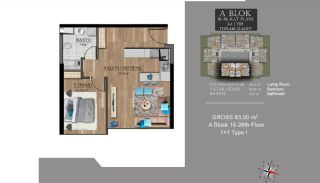 Centrally Located Luxury Apartments in Istanbul Esenyurt, Property Plans-4