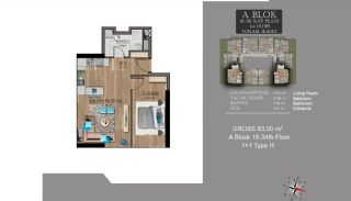 Centrally Located Luxury Apartments in Istanbul Esenyurt, Property Plans-5