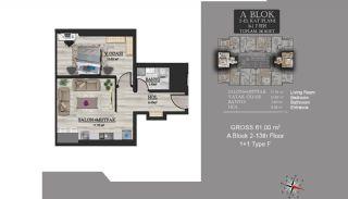 Centrally Located Luxury Apartments in Istanbul Esenyurt, Property Plans-7