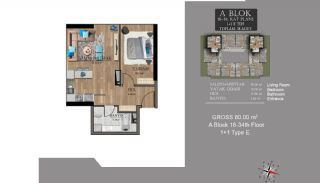 Centrally Located Luxury Apartments in Istanbul Esenyurt, Property Plans-8