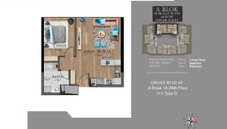 Centrally Located Luxury Apartments in Istanbul Esenyurt, Property Plans-9