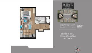 Centrally Located Luxury Apartments in Istanbul Esenyurt, Property Plans-14
