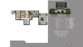 Centrally Located Luxury Apartments in Istanbul Esenyurt, Property Plans-15
