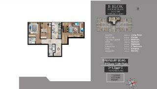 Centrally Located Luxury Apartments in Istanbul Esenyurt, Property Plans-16