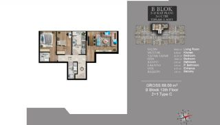 Centrally Located Luxury Apartments in Istanbul Esenyurt, Property Plans-17