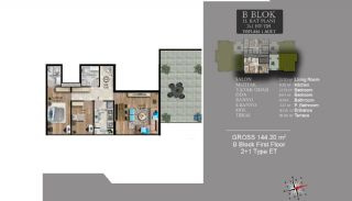 Centrally Located Luxury Apartments in Istanbul Esenyurt, Property Plans-19