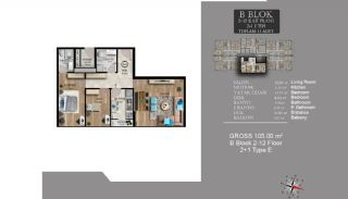 Centrally Located Luxury Apartments in Istanbul Esenyurt, Property Plans-20