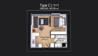 Contemporary Apartments Designed as Home Office in Istanbul, Property Plans-2