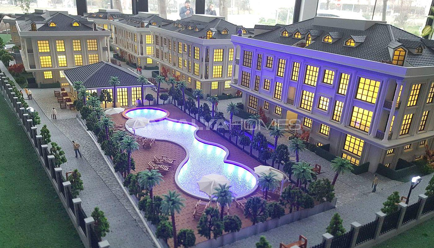 zentral gelegene istanbul wohnungen mit kinoraum. Black Bedroom Furniture Sets. Home Design Ideas