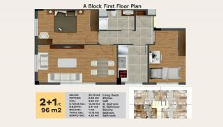 Luxury Apartments Near All Amenities in Istanbul, Property Plans-5