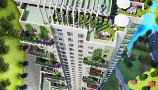 Contemporary Istanbul Flats Intertwined with Nature , Istanbul / Umraniye - video
