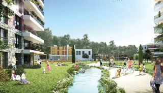 Key-Ready Apartments Next to the Forest in Istanbul, Istanbul / Sancaktepe - video
