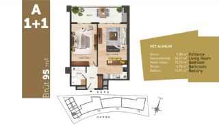 Quality Apartments with High Living Standards in Istanbul, Property Plans-1