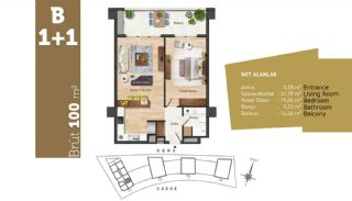 Quality Apartments with High Living Standards in Istanbul, Property Plans-2