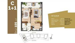 Quality Apartments with High Living Standards in Istanbul, Property Plans-3