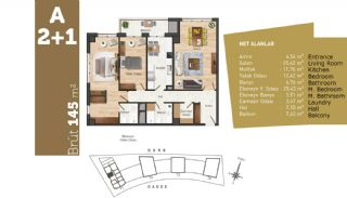 Quality Apartments with High Living Standards in Istanbul, Property Plans-5