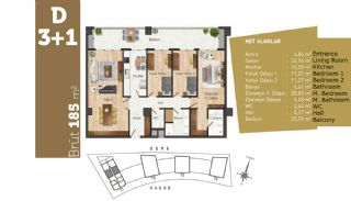 Quality Apartments with High Living Standards in Istanbul, Property Plans-6