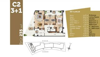 Quality Apartments with High Living Standards in Istanbul, Property Plans-8