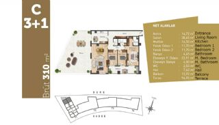 Quality Apartments with High Living Standards in Istanbul, Property Plans-10