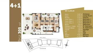 Quality Apartments with High Living Standards in Istanbul, Property Plans-11