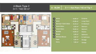 Family-Oriented Apartments in Istanbul Kagithane, Property Plans-1