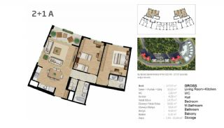 Boutique Concept Flats in Istanbul Bahcesehir, Property Plans-1