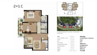 Boutique Concept Flats in Istanbul Bahcesehir, Property Plans-2