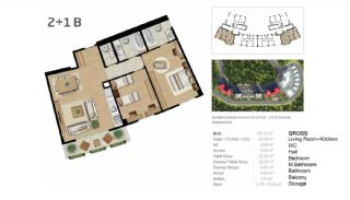 Boutique Concept Flats in Istanbul Bahcesehir, Property Plans-3