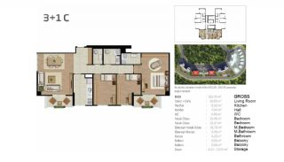 Boutique Concept Flats in Istanbul Bahcesehir, Property Plans-5