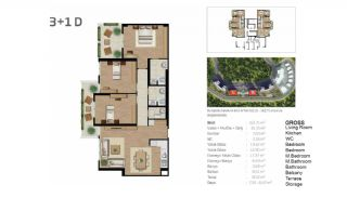 Boutique Concept Flats in Istanbul Bahcesehir, Property Plans-6