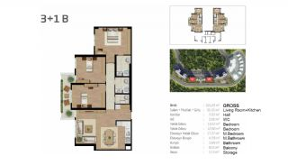 Boutique Concept Flats in Istanbul Bahcesehir, Property Plans-8