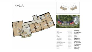 Boutique Concept Flats in Istanbul Bahcesehir, Property Plans-10