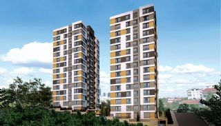 High-Quality Modern Apartments in Istanbul Turkey, Istanbul / Kagithane