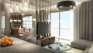 Högkvalitativa Moderna Lägenheter i Istanbul Turkiet, Interiör bilder-3