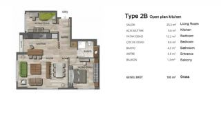 High-Quality Modern Apartments in Istanbul Turkey, Property Plans-5