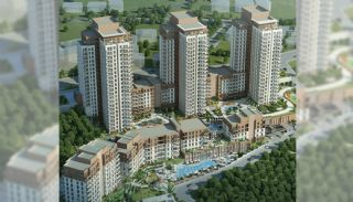 Luxury Istanbul Apartments at the Prime Location, Istanbul / Bahcesehir - video