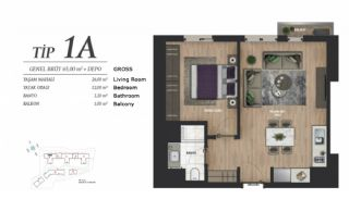 Luxury Istanbul Apartments at the Prime Location, Property Plans-2
