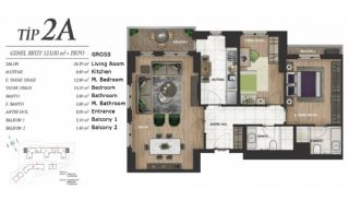 Luxury Istanbul Apartments at the Prime Location, Property Plans-3