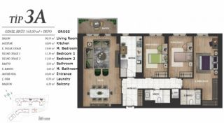 Luxury Istanbul Apartments at the Prime Location, Property Plans-4