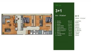 Favorable Apartments Close to All Amenities in Istanbul, Property Plans-3