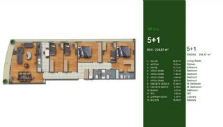 Favorable Apartments Close to All Amenities in Istanbul, Property Plans-5
