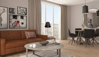 Modern Istanbul Flats 300 mt to the TEM Highway, Interior Photos-1